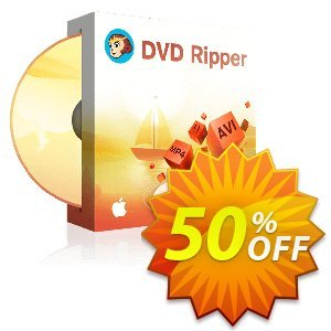 DVDFab DVD Ripper for Mac (1 year License) Coupon, discount 50% OFF DVDFab DVD Ripper for Mac (1 year License), verified. Promotion: Special sales code of DVDFab DVD Ripper for Mac (1 year License), tested & approved