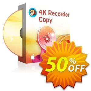 DVDFab 4K Recorder Copy for MAC Coupon, discount 50% OFF DVDFab 4K Recorder Copy for MAC, verified. Promotion: Special sales code of DVDFab 4K Recorder Copy for MAC, tested & approved