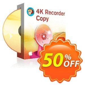 DVDFab 4K Recorder Copy for MAC 優惠券,折扣碼 50% OFF DVDFab 4K Recorder Copy for MAC, verified,促銷代碼: Special sales code of DVDFab 4K Recorder Copy for MAC, tested & approved