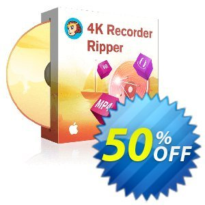DVDFab 4K Recorder Ripper for MAC discount coupon 50% OFF DVDFab 4K Recorder Ripper for MAC, verified - Special sales code of DVDFab 4K Recorder Ripper for MAC, tested & approved