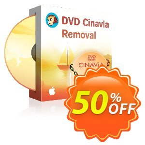 DVDFab DVD Cinavia Removal for MAC Coupon, discount 50% OFF DVDFab DVD Cinavia Removal for MAC, verified. Promotion: Special sales code of DVDFab DVD Cinavia Removal for MAC, tested & approved