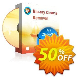 DVDFab Blu-ray Cinavia Removal for MAC Coupon, discount 50% OFF DVDFab Blu-ray Cinavia Removal for MAC, verified. Promotion: Special sales code of DVDFab Blu-ray Cinavia Removal for MAC, tested & approved