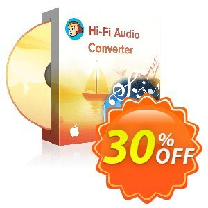 DVDFab Hi-Fi Audio Converter for MAC discount coupon 30% OFF DVDFab Hi-Fi Audio Converter for MAC, verified - Special sales code of DVDFab Hi-Fi Audio Converter for MAC, tested & approved