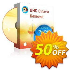 DVDFab UHD Cinavia Removal for MAC Coupon discount 50% OFF DVDFab UHD Cinavia Removal for MAC, verified. Promotion: Special sales code of DVDFab UHD Cinavia Removal for MAC, tested & approved