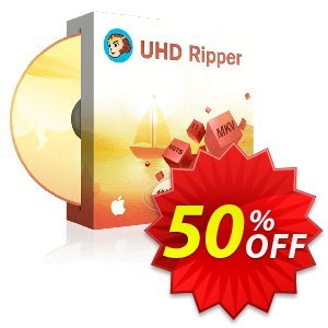 DVDFab UHD Ripper for MAC discount coupon 50% OFF DVDFab UHD Ripper for MAC, verified - Special sales code of DVDFab UHD Ripper for MAC, tested & approved