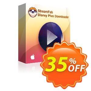 StreamFab Disney Plus Downloader for MAC Lifetime Coupon, discount 31% OFF StreamFab Disney Plus Downloader for MAC Lifetime, verified. Promotion: Special sales code of StreamFab Disney Plus Downloader for MAC Lifetime, tested & approved
