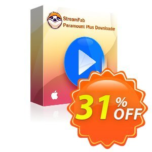 StreamFab Paramount Plus Downloader for MAC Lifetime discount coupon 31% OFF StreamFab FANZA Downloader for MAC, verified - Special sales code of StreamFab FANZA Downloader for MAC, tested & approved