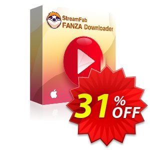 StreamFab FANZA Downloader for MAC Lifetime Coupon, discount 31% OFF StreamFab FANZA Downloader for MAC Lifetime, verified. Promotion: Special sales code of StreamFab FANZA Downloader for MAC Lifetime, tested & approved