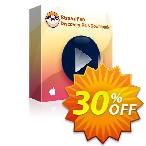 StreamFab Discovery Plus Downloader for MAC (1 Month) discount coupon 30% OFF StreamFab Discovery Plus Downloader for MAC (1 Month), verified - Special sales code of StreamFab Discovery Plus Downloader for MAC (1 Month), tested & approved