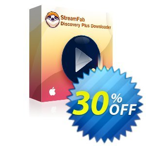 StreamFab Discovery Plus Downloader for MAC (1 Year) discount coupon 30% OFF StreamFab Discovery Plus Downloader for MAC (1 Year), verified - Special sales code of StreamFab Discovery Plus Downloader for MAC (1 Year), tested & approved