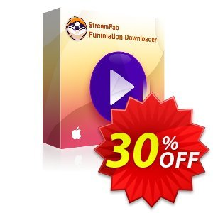 StreamFab Funimation Downloader PRO for MAC (1 Month) discount coupon 30% OFF StreamFab Funimation Downloader PRO for MAC (1 Month), verified - Special sales code of StreamFab Funimation Downloader PRO for MAC (1 Month), tested & approved