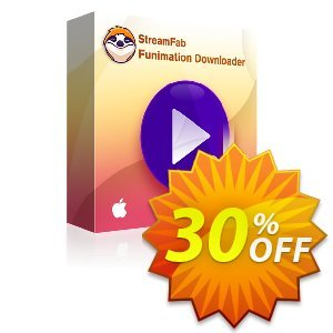 StreamFab Funimation Downloader PRO for MAC (1 Year) discount coupon 30% OFF StreamFab Funimation Downloader PRO for MAC (1 Year), verified - Special sales code of StreamFab Funimation Downloader PRO for MAC (1 Year), tested & approved