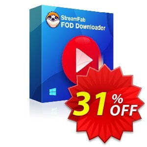StreamFab FOD Downloader for MAC Coupon, discount 31% OFF StreamFab FOD Downloader for MAC, verified. Promotion: Special sales code of StreamFab FOD Downloader for MAC, tested & approved
