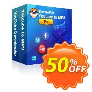 StreamFab YouTube Downloader PRO Lifetime Coupon, discount 31% OFF StreamFab YouTube Downloader PRO Lifetime, verified. Promotion: Special sales code of StreamFab YouTube Downloader PRO Lifetime, tested & approved