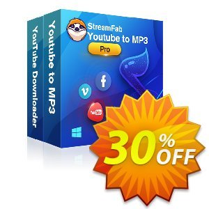 StreamFab YouTube Downloader PRO (1 Month) Coupon, discount 30% OFF StreamFab YouTube Downloader PRO (1 Month), verified. Promotion: Special sales code of StreamFab YouTube Downloader PRO (1 Month), tested & approved