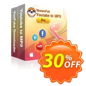StreamFab YouTube Downloader PRO for MAC (1 Month) Coupon, discount 30% OFF StreamFab YouTube Downloader PRO for MAC (1 Month), verified. Promotion: Special sales code of StreamFab YouTube Downloader PRO for MAC (1 Month), tested & approved