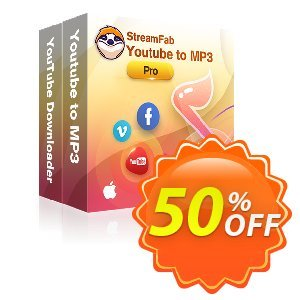 StreamFab YouTube Downloader PRO for MAC (1 Year) Coupon, discount 30% OFF StreamFab YouTube Downloader PRO for MAC (1 Year), verified. Promotion: Special sales code of StreamFab YouTube Downloader PRO for MAC (1 Year), tested & approved