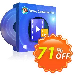 DVDFab Video Converter PRO (1 year License) Coupon discount 71% OFF DVDFab Video Converter PRO (1 year License), verified. Promotion: Special sales code of DVDFab Video Converter PRO (1 year License), tested & approved