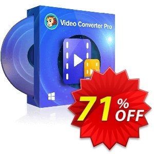 DVDFab Video Converter PRO (1 year License) Coupon, discount 71% OFF DVDFab Video Converter PRO (1 year License), verified. Promotion: Special sales code of DVDFab Video Converter PRO (1 year License), tested & approved