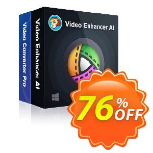 DVDFab Video Converter Pro + Video Enhancer AI discount coupon 76% OFF DVDFab Video Converter Pro + Video Enhancer AI, verified - Special sales code of DVDFab Video Converter Pro + Video Enhancer AI, tested & approved