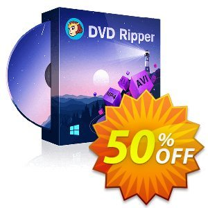 DVDFab DVD Ripper (1 year License) discount coupon 50% OFF DVDFab DVD Copy Lifetime License, verified - Special sales code of DVDFab DVD Copy Lifetime License, tested & approved