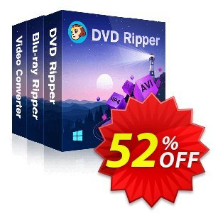 DVDFab DVD Ripper + Blu-ray Ripper + Video Converter discount coupon 52% OFF DVDFab DVD Ripper + Blu-ray Ripper + Video Converter, verified - Special sales code of DVDFab DVD Ripper + Blu-ray Ripper + Video Converter, tested & approved