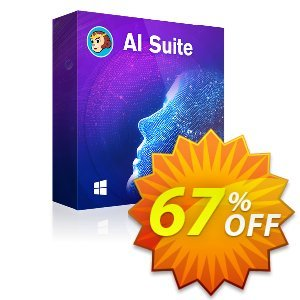 DVDFab AI Suite discount coupon 60% OFF DVDFab AI Suite, verified - Special sales code of DVDFab AI Suite, tested & approved