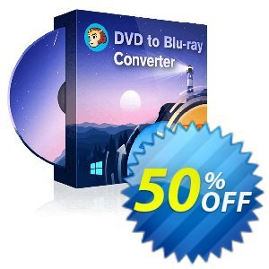 DVDFab DVD to Blu-ray Converter discount coupon 50% OFF DVDFab DVD to Blu-ray Converter, verified - Special sales code of DVDFab DVD to Blu-ray Converter, tested & approved