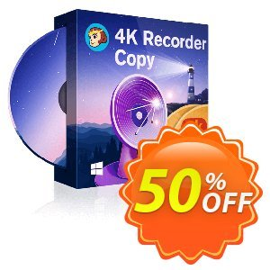 DVDFab 4K Recorder Copy Coupon, discount 50% OFF DVDFab 4K Recorder Copy, verified. Promotion: Special sales code of DVDFab 4K Recorder Copy, tested & approved