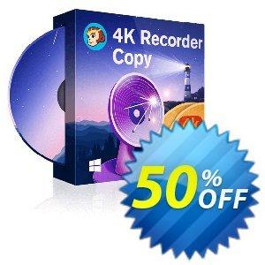 DVDFab 4K Recorder Copy discount coupon 50% OFF DVDFab 4K Recorder Copy, verified - Special sales code of DVDFab 4K Recorder Copy, tested & approved