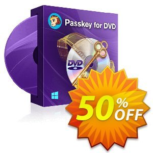 DVDFab Passkey for DVD discount coupon 50% OFF DVDFab Passkey for DVD, verified - Special sales code of DVDFab Passkey for DVD, tested & approved