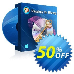 DVDFab Passkey for Blu-ray discount coupon 50% OFF DVDFab Passkey for Blu-ray, verified - Special sales code of DVDFab Passkey for Blu-ray, tested & approved