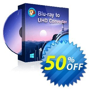 DVDFab Blu-ray to UHD Converter discount coupon 50% OFF DVDFab Blu-ray to UHD Converter, verified - Special sales code of DVDFab Blu-ray to UHD Converter, tested & approved
