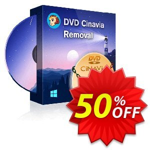 DVDFab DVD Cinavia Removal Coupon discount 50% OFF DVDFab DVD Cinavia Removal, verified. Promotion: Special sales code of DVDFab DVD Cinavia Removal, tested & approved