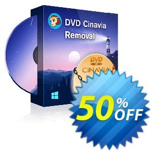 DVDFab DVD Cinavia Removal Coupon, discount 50% OFF DVDFab DVD Cinavia Removal, verified. Promotion: Special sales code of DVDFab DVD Cinavia Removal, tested & approved