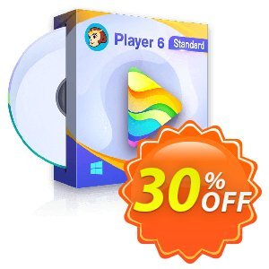 DVDFab Player 6 Standard Coupon, discount 30% OFF DVDFab Player 6 Standard, verified. Promotion: Special sales code of DVDFab Player 6 Standard, tested & approved
