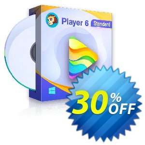 DVDFab Player 6 discount coupon 30% OFF DVDFab Player 6, verified - Special sales code of DVDFab Player 6, tested & approved