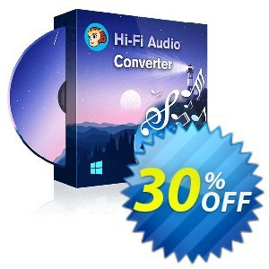 DVDFab Hi-Fi Audio Converter discount coupon 30% OFF DVDFab Hi-Fi Audio Converter, verified - Special sales code of DVDFab Hi-Fi Audio Converter, tested & approved