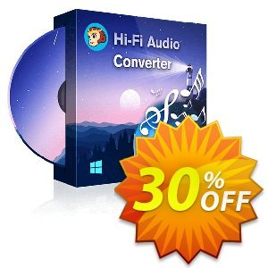 DVDFab Hi-Fi Audio Converter Coupon, discount 30% OFF DVDFab Hi-Fi Audio Converter, verified. Promotion: Special sales code of DVDFab Hi-Fi Audio Converter, tested & approved