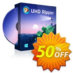 DVDFab UHD Ripper Coupon, discount 50% OFF DVDFab UHD Ripper, verified. Promotion: Special sales code of DVDFab UHD Ripper, tested & approved