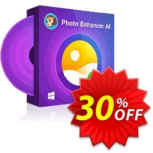 DVDFab Photo Enhancer AI (1 month license) discount coupon 30% OFF DVDFab Photo Enhancer AI (1 month license), verified - Special sales code of DVDFab Photo Enhancer AI (1 month license), tested & approved