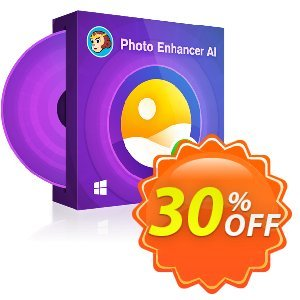 DVDFab Photo Enhancer AI (1 year license)割引コード・30% OFF DVDFab Photo Enhancer AI (1 year license), verified キャンペーン:Special sales code of DVDFab Photo Enhancer AI (1 year license), tested & approved