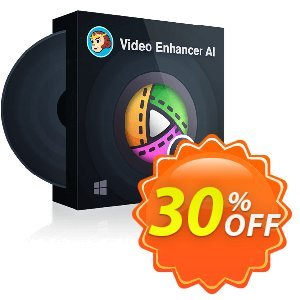 DVDFab Video Enhancer AI (1 year license) discount coupon 30% OFF DVDFab Video Enhancer AI (1 year), verified - Special sales code of DVDFab Video Enhancer AI (1 year), tested & approved