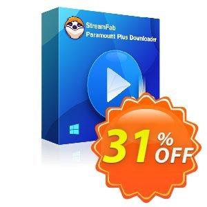 StreamFab Paramount Plus Downloader Coupon discount 31% OFF StreamFab FANZA Downloader for MAC, verified