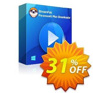 StreamFab Paramount Plus Downloader Lifetime discount coupon 31% OFF StreamFab FANZA Downloader for MAC, verified - Special sales code of StreamFab FANZA Downloader for MAC, tested & approved