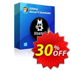 DVDFab AbemaTV Downloader discount coupon 30% OFF DVDFab AbemaTV Downloader, verified - Special sales code of DVDFab AbemaTV Downloader, tested & approved