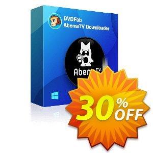DVDFab AbemaTV Downloader (1 year License) discount coupon 30% OFF DVDFab AbemaTV Downloader (1 year License), verified - Special sales code of DVDFab AbemaTV Downloader (1 year License), tested & approved