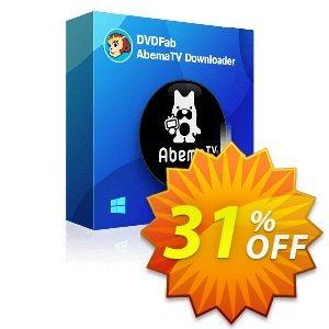 DVDFab AbemaTV Downloader Lifetime License Coupon discount 30% OFF DVDFab AbemaTV Downloader Lifetime License, verified