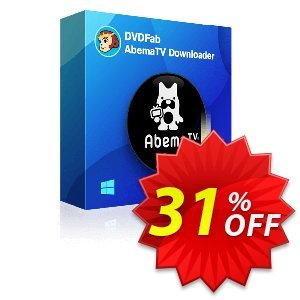 DVDFab AbemaTV Downloader Lifetime License discount coupon 30% OFF DVDFab AbemaTV Downloader Lifetime License, verified - Special sales code of DVDFab AbemaTV Downloader Lifetime License, tested & approved