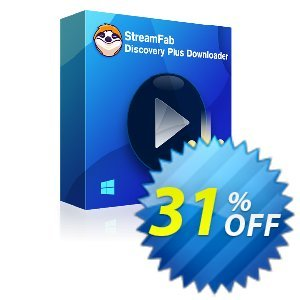 StreamFab Discovery Plus Downloader kode diskon 31% OFF StreamFab Discovery Plus Downloader, verified Promosi: Special sales code of StreamFab Discovery Plus Downloader, tested & approved